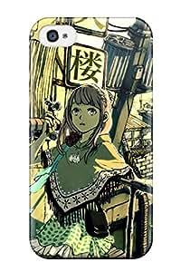 animal cat wyxzettai ryouiki Anime Pop Culture Hard Plastic iPhone 4/4s cases