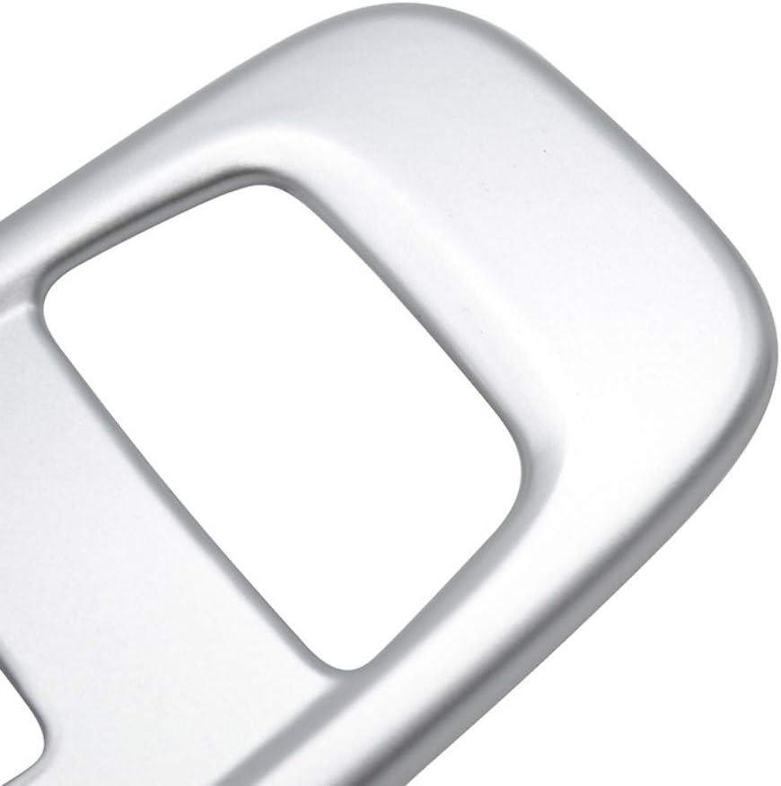 CYBHR AX Porta Interna Interruttore della Finestra Pannello Pulsante di Sollevamento Bracciolo Copertura cromata Cornice del Telaio Modanatura Car-Styling per Jeep Compass 2017 2018