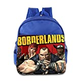 Toddler Kids Borderlands School Backpack Cute Baby Boys Girls School Bag RoyalBlue