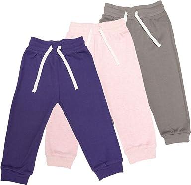 Lovjoy Pantalones Jogger bebés niñas/Pantalones Informales / 100% algodón, Suaves y cómodos (3, 3-4 años): Amazon.es: Ropa y accesorios