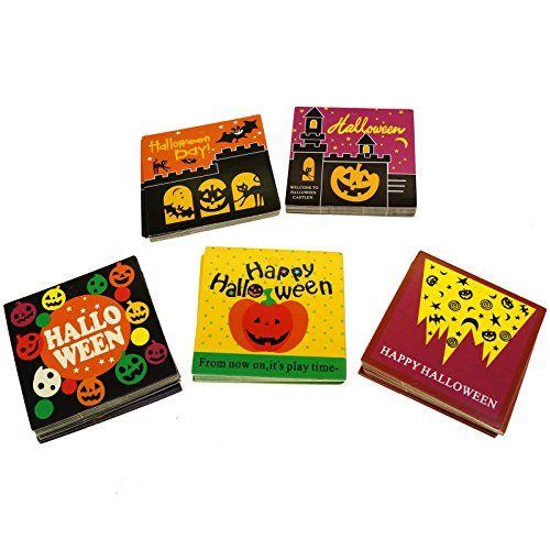Halloween Mix Design Paper Gift / Price Tags for Gift Wrapping Packaging, Set of 95 (Mix)