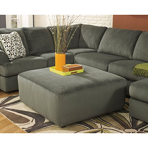 Amazon.com: Flash Furniture Signature Design By Ashley Jessa Place  Sectional In Pewter Fabric: Kitchen U0026 Dining
