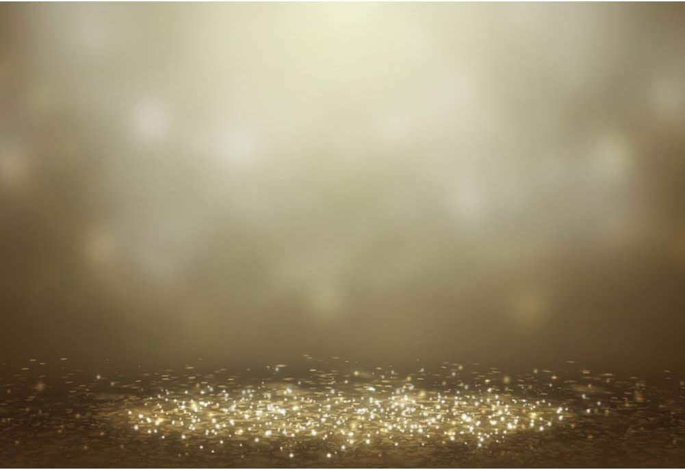 Leowefowa Dreamlike Glittering Bokeh Performance Stage Backdrop 5x3ft Vinyl Child Adult Photography Background Selfie Photo Shoot Video Show Record Event Activities Photo Booth Party Decor