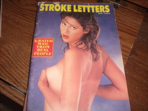 Stroke Letters Adult Magazine X-Rated Mail from Real People Tv Guide - Mail Guide Size
