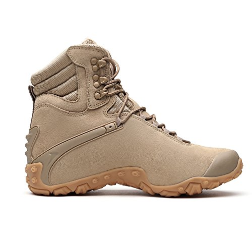 boots XIANG New GUAN amp; Winter Hiking top Leather Resistant arrival Shoes Footwear Shoes Outdoor Climbing Trekking Beige High Men's Women's Water Iqrq5xHwd