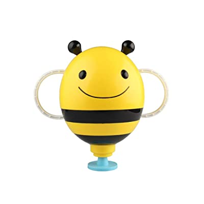 Yuanhaourty Cute Cartoon Mini Bee Water Fountain Shower Animal Baby Bath Toy Bathroom Plastic Kids Bathtub Playing Bathing Tools : Baby