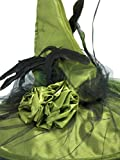MGPS Victorian Witch Hat Emerald Green w/Veil 18 inch