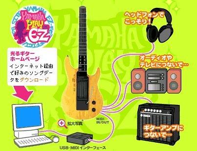 Yamaha EZ-EG self-teaching Guitarra Eléctrica (cuerpo de madera)