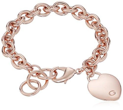 old G Logo Heart Link Bracelet ()