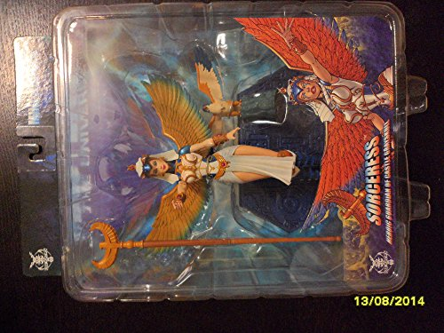 MASTERS OF THE UNIVERSE EXCLUSIVE SORCERESS FIGURE - SERIES 3 - NEW