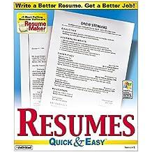 Resumes Quick & Easy 5.0