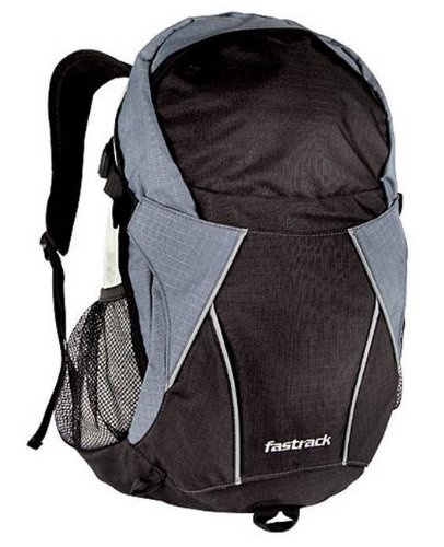af43e44e4cab Fastrack Black Casual Backpack (A0310NBK01AE)  Amazon.in  Bags ...