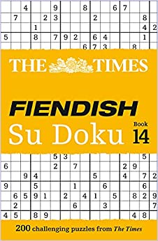 The Times Fiendish Su Doku: Book 14: 200 Challenging Puzzles from The Times