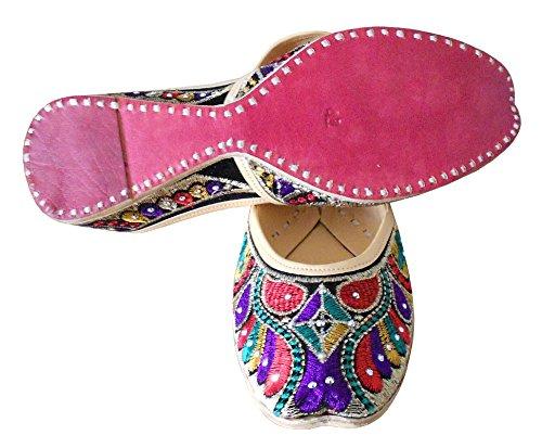 Kalra Designer indiano donna velluto Tradizionale Creations scarpe da Tx6HwTrq