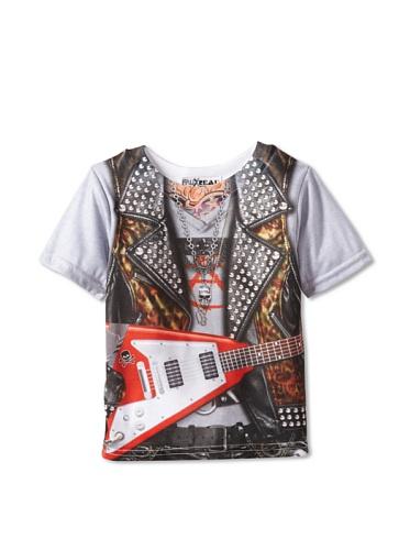[Toddler: RockStar Costume Tee Baby T-Shirt Size 4T] (Rockstar Boys Costume)