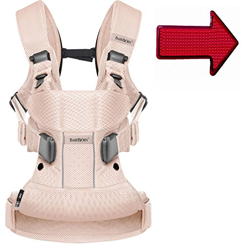 Baby Bjorn Baby Carrier One Air With Free Safety Reflector