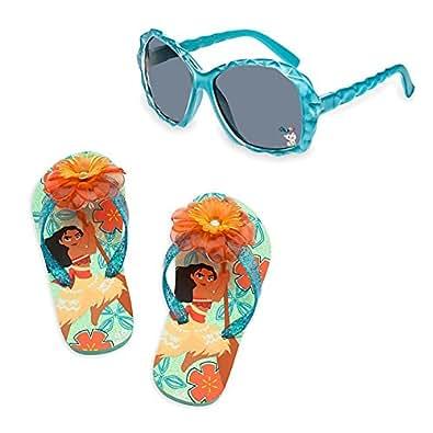 Amazon.com | Disney Store Moana Flip Flops and Sunglasses