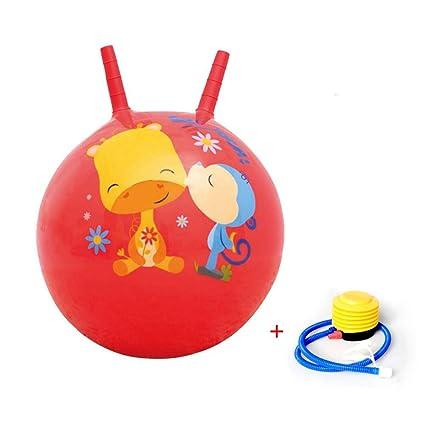 644e99bb Niños saltarinas Fútbol HOPS pelota 40 cm Salto Con Mango, inflable  resistente goma, con