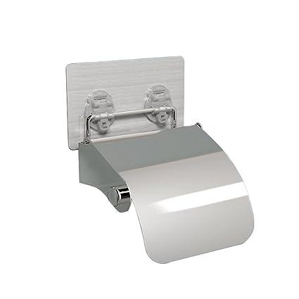 Almacenamiento Baño Dispensador de toalla de papel de cocina soporte para papel higiénico de acero inoxidable