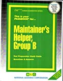 Maintainer's Helper - Group B, Jack Rudman, 0837304660