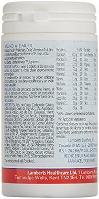 Lamberts A-Z Multi - 60 Tabletas: Amazon.es: Salud y cuidado personal