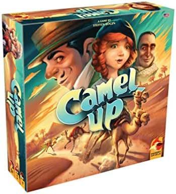 Eggertspiele Camel Up Board Game, Multicolor
