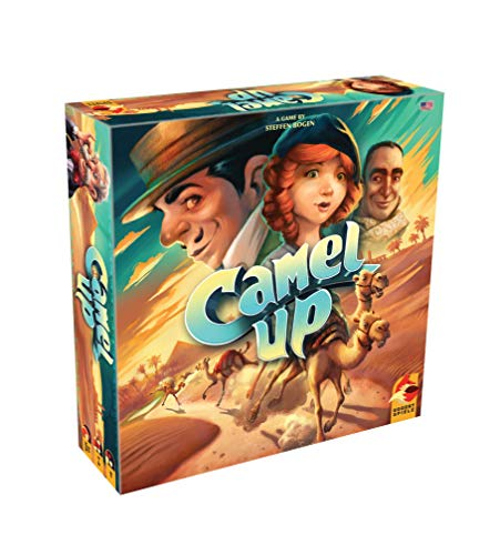 Eggertspiele Camel Up Board Game, Multicolor ()