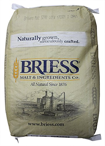 Briess 2-Row Brewers Malt For Home Brewing-50 Lbs. (Pale Row Malt 2)