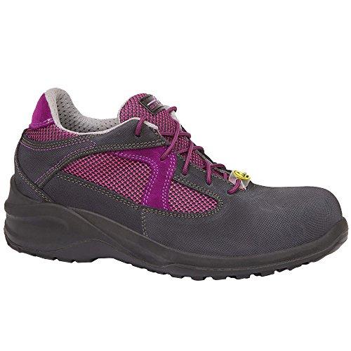 Giasco BL106K38 Iris Chaussures de sécurité bas S3 Taille 38 Noir/Lilas