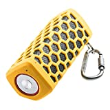 Portable Hi-fi Wireless Bluetooth Speaker Waterproof with Power Bank, Built-in 7000mAh Rechargeable Battery, 20 Hours Playtime, Powerful Surround Hi-fi Sound with Enhanced Bass (Yellow)