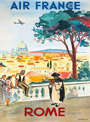 rome-italy-st-peters-basilica-roman-italian-air-france-vintage-travel-poster-poster-measures-10-x-13
