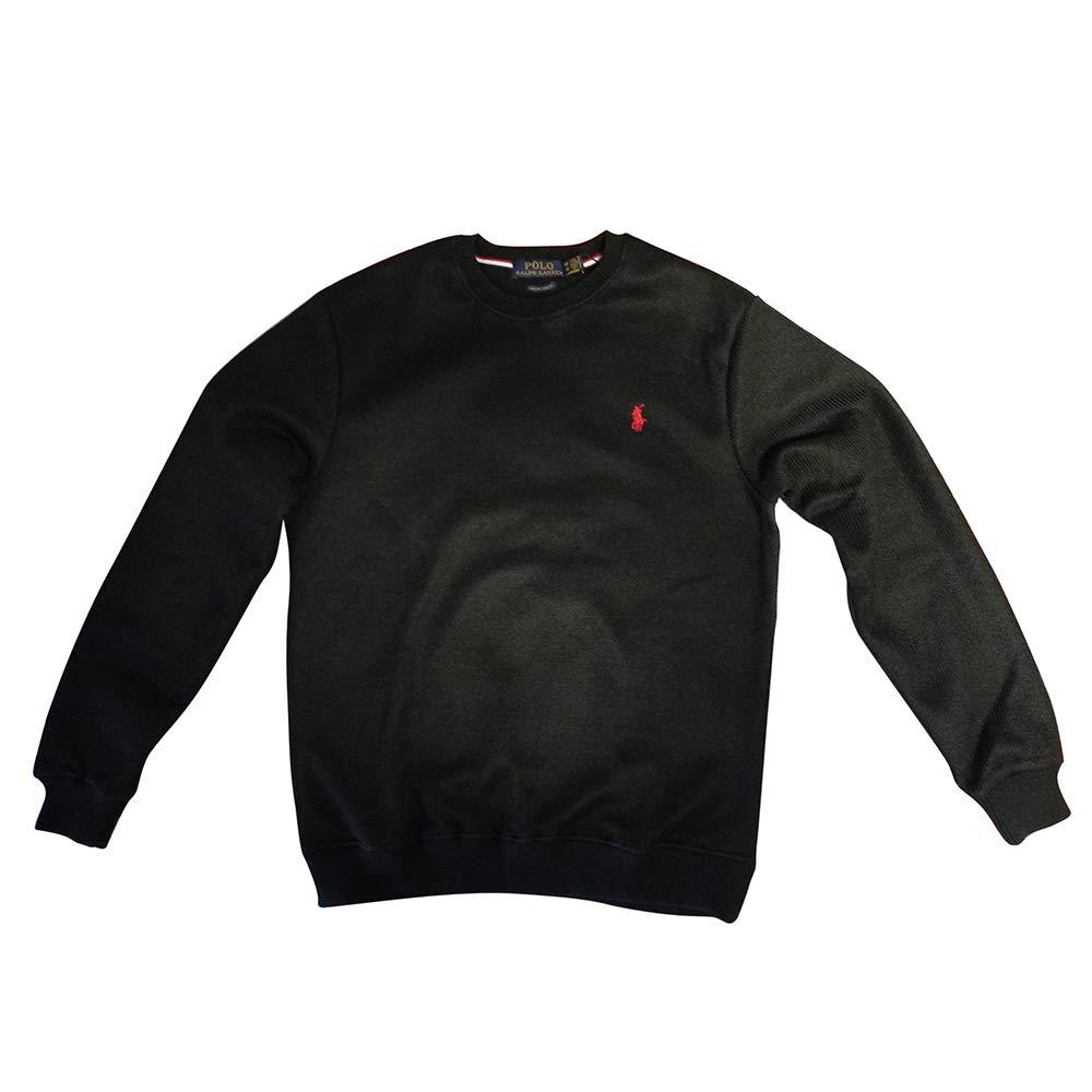 Ralph Lauren Jersey Thermal Custom Slim Fit (XXL, Black Polo ...