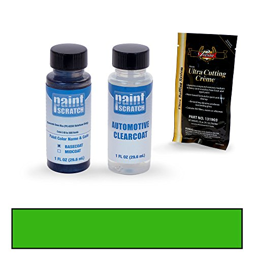 Price comparison product image PAINTSCRATCH 2000 Honda Civic Cascade Green Mica (PPG 402593 Waterbase Only) G-99 Touch Up Paint Bottle Kit by Original Factory OEM Automotive Paint - Color Match Guaranteed