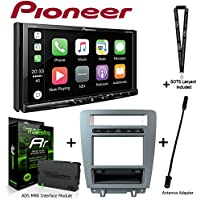 Pioneer AVH-2330NEX 7 DVD Receiver iDatalink KIT-MUS1 factory integration adapter for select Ford Mustang, ADS-MRR Interface Module and BAA21 Antenna Adapter and a SOTS Lanyard