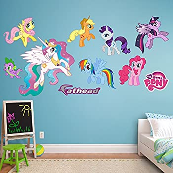 Attractive Fathead My Little Pony Collection Vinyl Decals Part 22