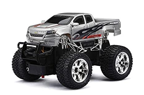 Buy New Bright Chevy Colorado Remote Radio Control Truck Gray