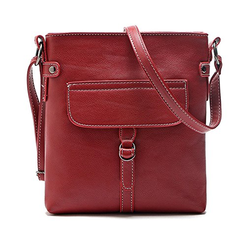 Duketea Bag Red Small Girls Purse Faux for Women for Teen Crossbody Crossover Leather rr6wq8a
