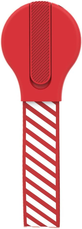Red W-lin Cell Phone Grip Works with Magnetic Car Mount Stand Holder for Back of Phone Compatible iPhone Samsung HTC Nokia Google iPad Mini Fabric Phone Strap /& Phone Finger Holder