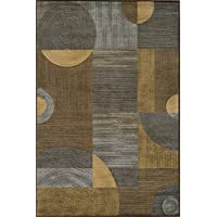 Momeni Rugs DREAMDR-01BRN2030 Dream Collection, Contemporary Area Rug, 2 x 3, Brown