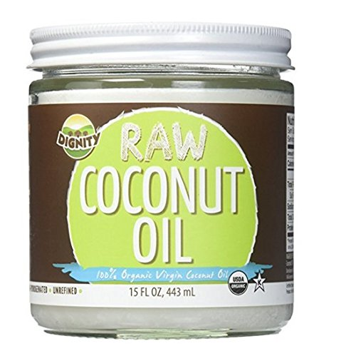 Dignity Coconuts Oil Coconut Raw Virgin Organic, 15 oz (2 jars)