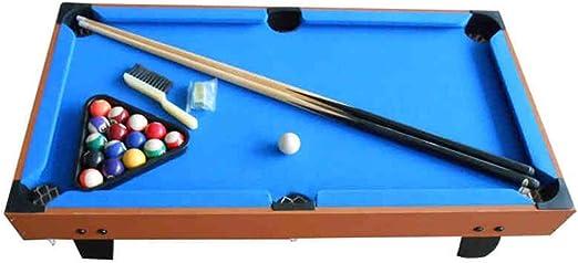 Arcade Juegos de mesa Creativa Mesa De Futbolín De Mesa De Billar Mini Accesorios Del Juego De Fútbol Tableros De La Mesa Competencia Juegos Juegos Deportivos (Color : Blue , Size :