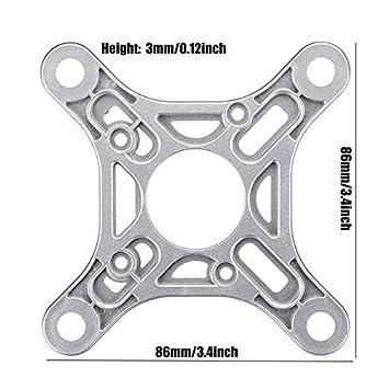 RONSHIN Drone Camera Gimbal Damping Plate Shock Absorbing Mount for DJI Phantom 3 Standard 3S Upper Cover