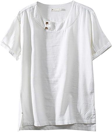 Camisetas de Manga Corta para Hombre, Estilo Retro, Estilo Chino ...