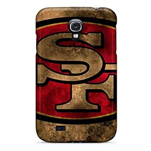 Shock-Absorbing Hard Phone Case For Samsung Galaxy S4 (PXp2501Tazg) Custom High-definition San Francisco 49ers Skin
