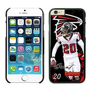NFL Case Cover For Apple Iphone 5/5S Atlanta Falcons Brent Grimes Black Case Cover For Apple Iphone 5/5S Cell Phone Case ONXTWKHB0156