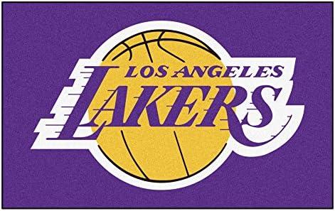 FANMATS NBA Los Angeles Lakers Nylon Face Ultimat Rug