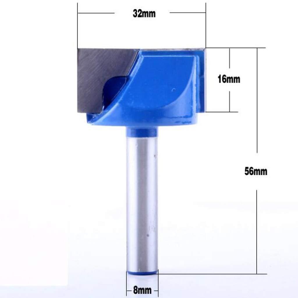 2pcs Nutfr/äser Schaft 8 mm Nutenfr/äser Holzfr/äser Fr/äser Nuter 17mm 32mm