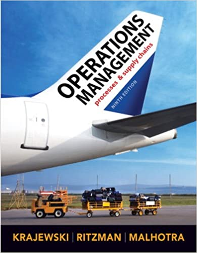 Operations management 9th edition lee j krajewski larry p operations management 9th edition 9th edition fandeluxe Gallery
