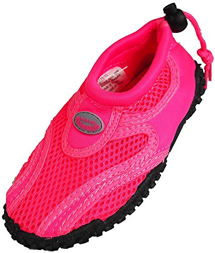 The Wave - Childrens Aqua Shoe,12MUSLittleKid,fuchsia light pink