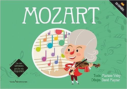 Libro niños Mozart